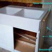 Installing DOMSJO in non-ikea cabinets