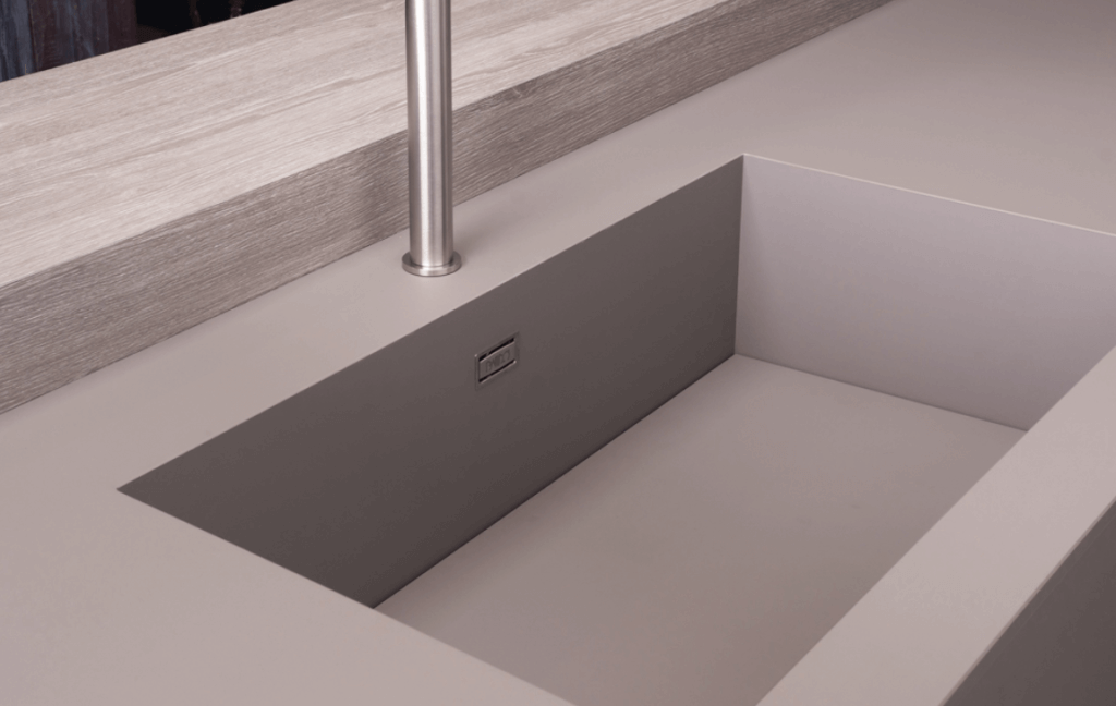 Integrated Sink and Kitchen Countertop From Fenix NTM
