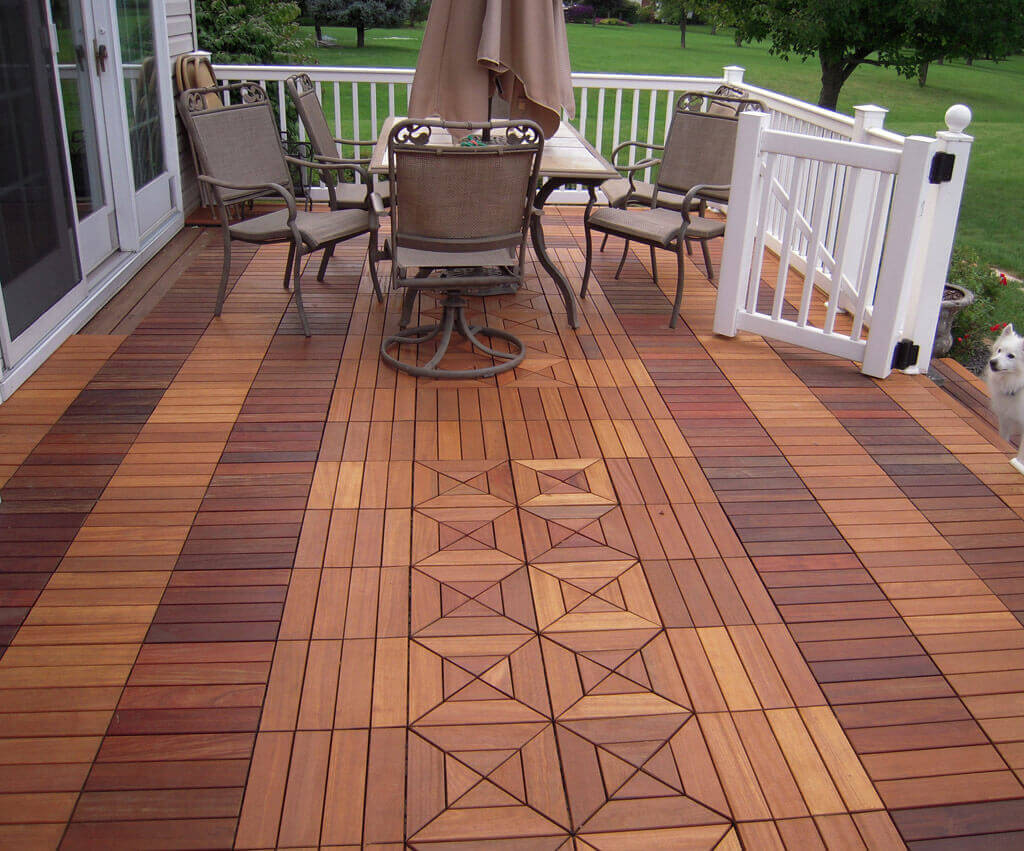 Wood deck installation prices estimate the cost of for What is the best wood for decking