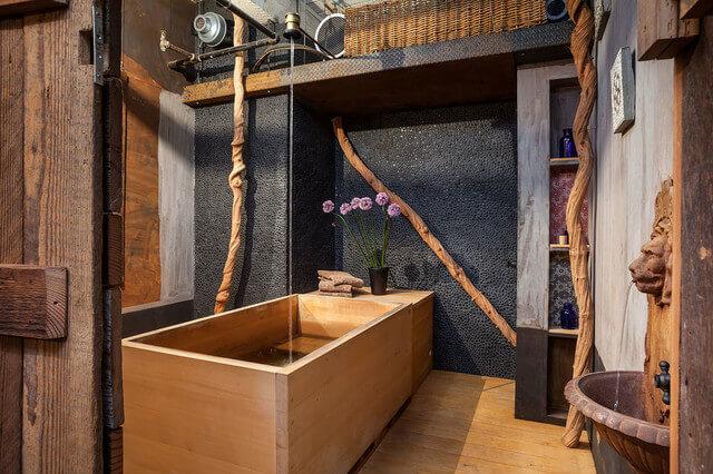Japanese Wood Soaking Tub