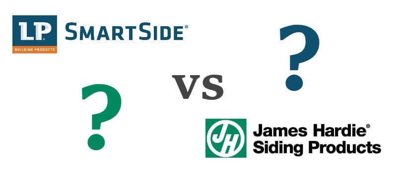 Which is the best siding for a house lp smartside vs hardie for Lp smartside vs hardiplank cost