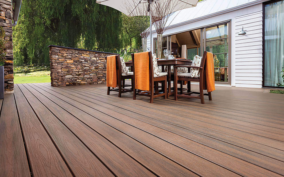 Modern composite decking for Lumber calculator for house