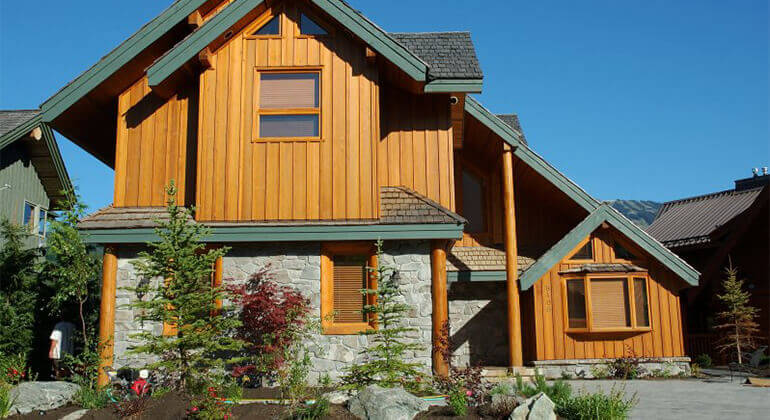Natural Board And Batten Wood Siding Remodeling Cost