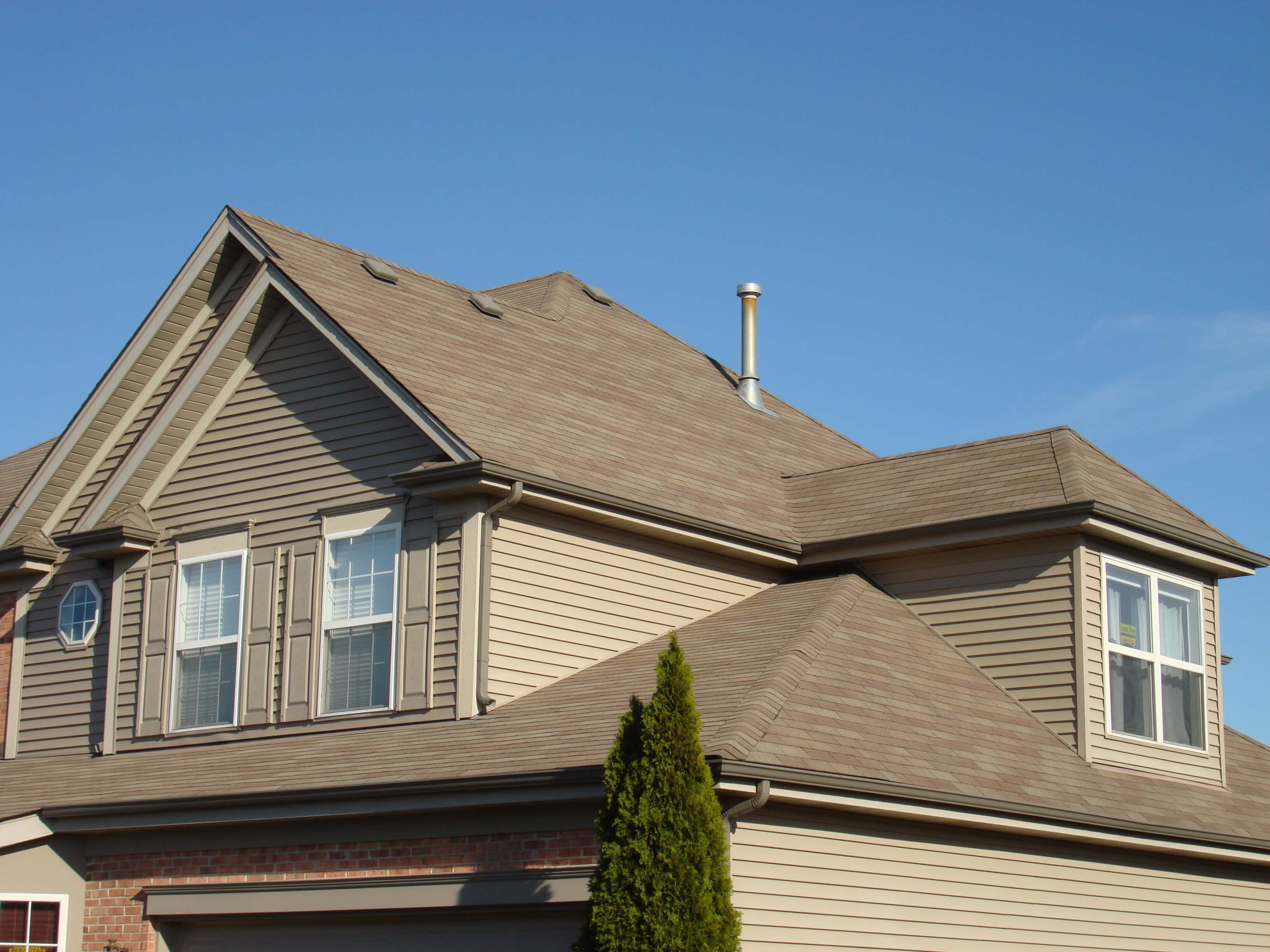 New Asphalt Shingles Roof