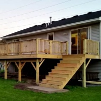 Deck building cost calculator estimate prices of trex for Timber decking calculator