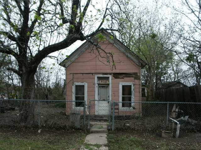 Old Foreclosed Home