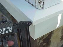 PVC trim for siding