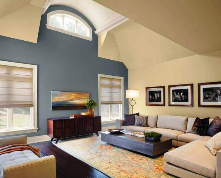 Elegant Painting A Modern Living Room