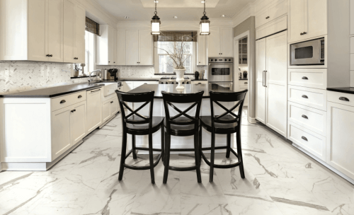 Kitchen Floor Marble 7 best tips on choosing the right floor tile for every room