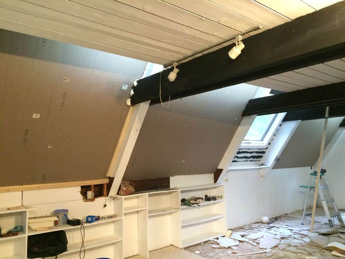 Post and beam home ceiling insulation for Insulation options for new homes