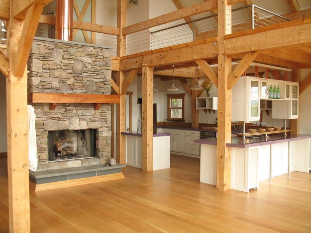 Post And Beam Home Design  House Design Ideas - Post beam home designs