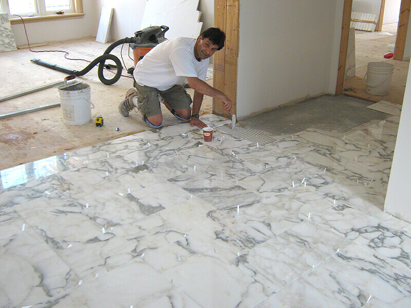 Professional Tile Floor Installation