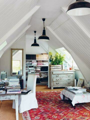 Design Ideas For Attics And Tiny Spaces - Magazine cover