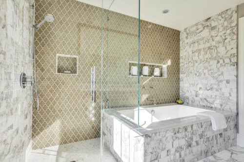 Tile Installation Cost For A Bathroom Remodel - 7 x6 bathroom design
