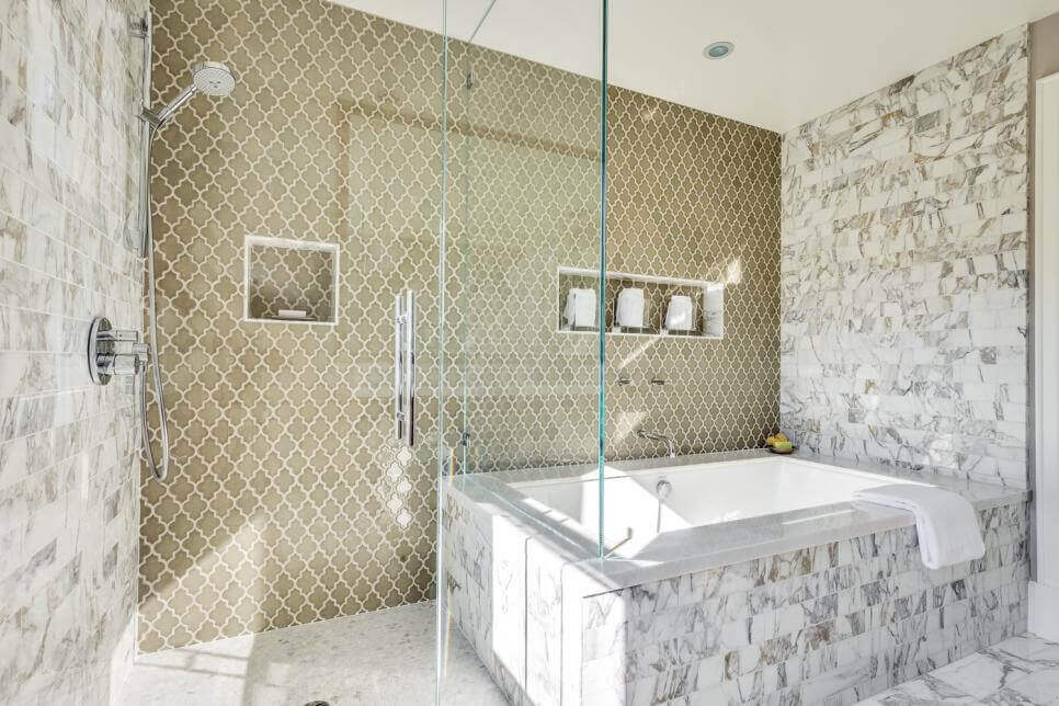 Tile installation cost guide for a bathroom remodel - Basement bathroom cost calculator ...