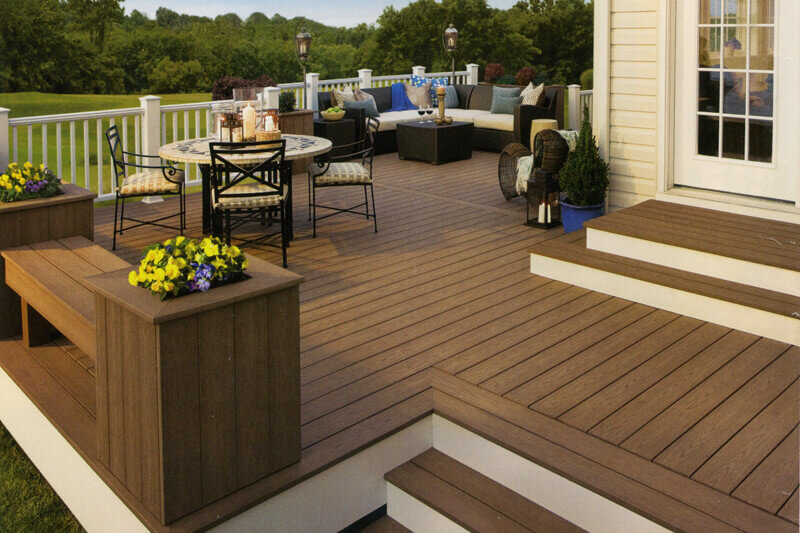 Ideas For Deck Designs garden design garden design with patio design ideas and deck ideas for deck design Trex Composite Deck Trex Deck Design Ideas