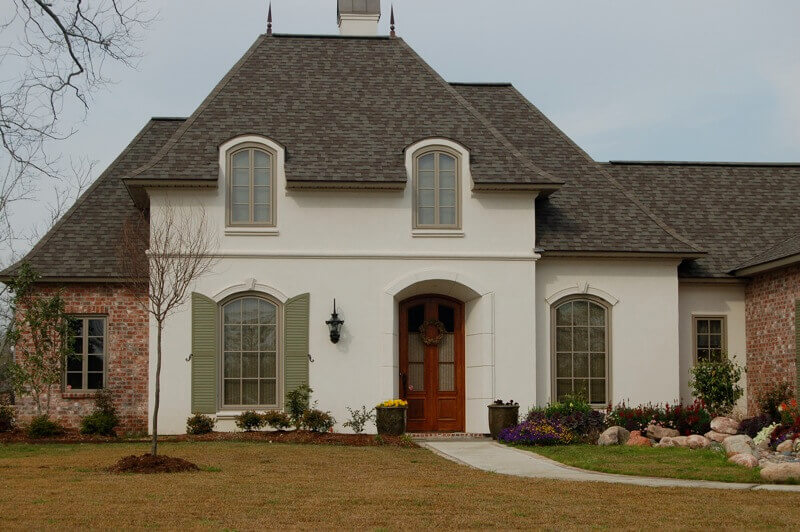 Stucco cost estimate prices to stucco a house - Average cost to have interior house painted ...