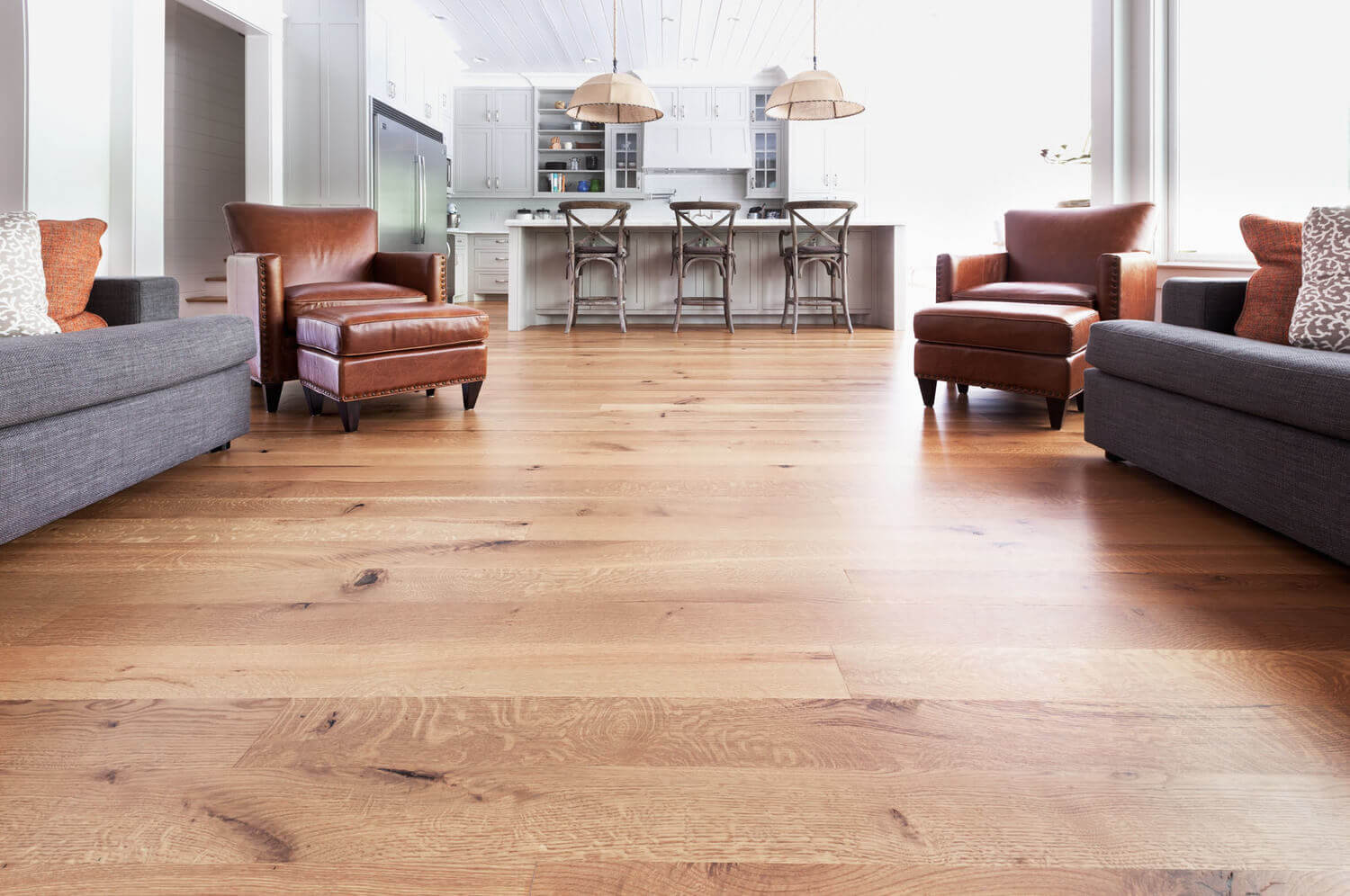 Hardwood floor installation cost