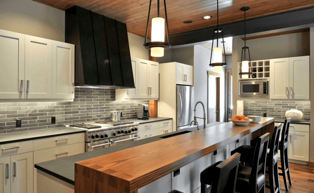 Kitchen Renovation Ideas   Wood And Metal Accents