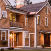 Wood Siding Types - Natural Cedar Shake
