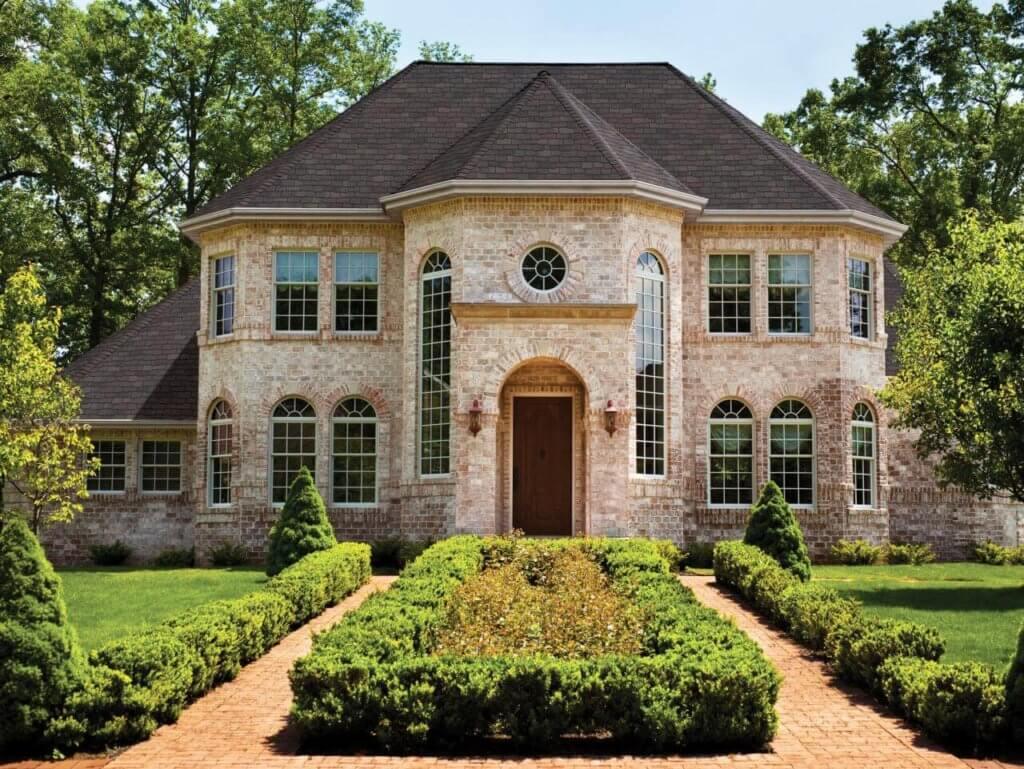 brick veneer house exterior