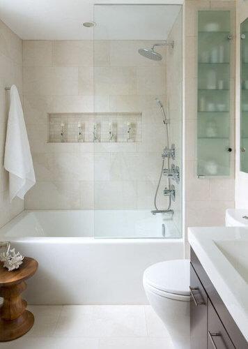 cost of glass bathroom fixtures