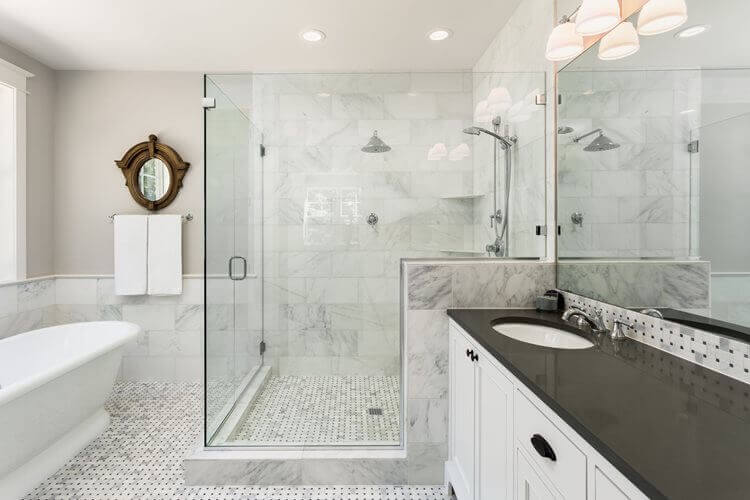 Bathroom Remodel Cost Estimator - How much is it to remodel a bathroom