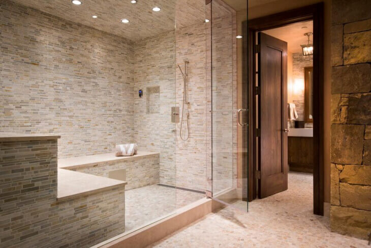 custom steam shower design