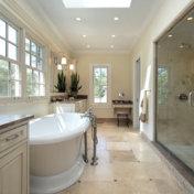 luxury fixtures for a bathroom renovation