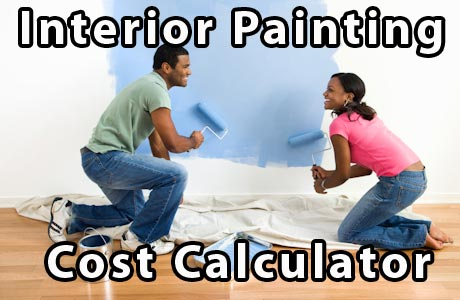 Interior painting cost calculator get an instant price - Interior paint calculator square feet ...
