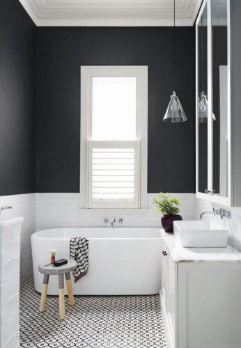 tiny bathroom color ideas
